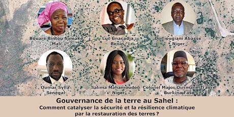 Gouvernance de la terre au Sahel tickets