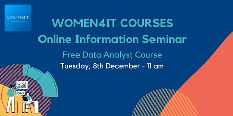 Women4IT Free Data Analyst Course tickets