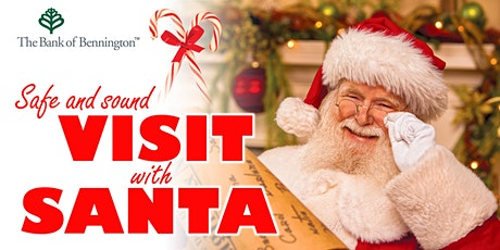 Safe & Sound Visit with Santa tickets