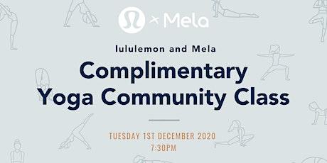 lululemon x Mela  - Complimentary Yin & Yoga Nidra Class tickets