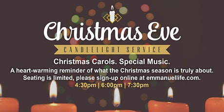 Emmanuel Christmas Eve Service tickets