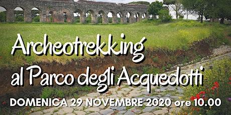Archeotrekking al Parco degli Acquedotti biglietti