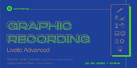 Workshop di Graphic recording / ADVANCED biglietti