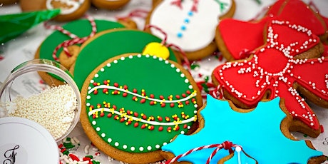Christmas Cookie Decorating Boxes To-Go tickets