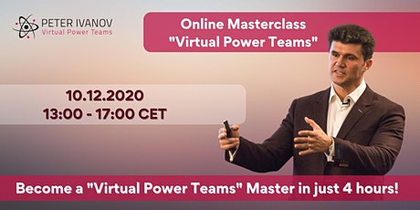 """Masterclass """"Virtual Power Teams""""-Develop your organization for the FUTURE! tickets"""