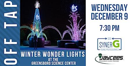 December Off Tap: Winter Wonder Lights tickets