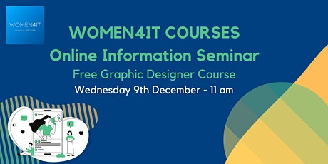 Women4IT Free Graphic Designer Course tickets