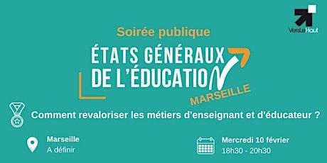 Soirée publique : Revaloriser les métiers d'enseignant et d'éducateur billets