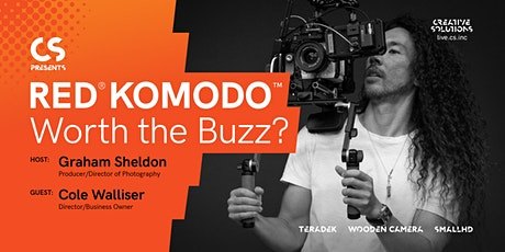 Shot for Shot with Cole Walliser and the RED® KOMODO: Worth the Buzz? tickets