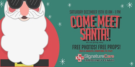 Socially Distance with Santa! tickets