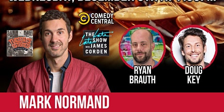 Mark Normand at City Steam tickets