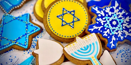 Hanukkah Cookie Decorating Boxes To-Go tickets