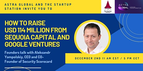 Founders talk with Aleksandr Yampolskiy: How to raise USD 114m from Sequoia tickets