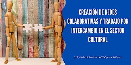 Seminario Virtual Creación de redes colaborativas y trabajo por intercambio entradas