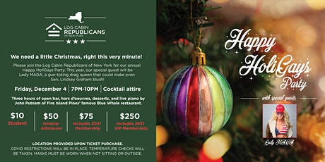 LCR NY 2020 Holiday Celebration tickets
