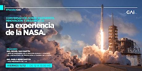 #PanelesCAI: Conversación sobre ingenieros, innovación y desarrollo. entradas