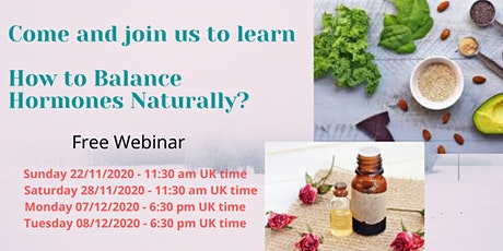 Woman's Hormonal Health Webinar tickets
