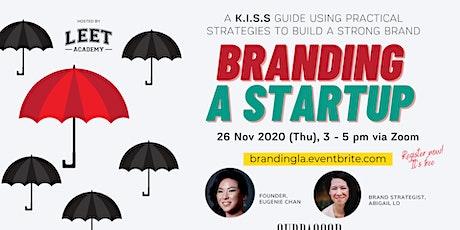 Branding A Startup tickets