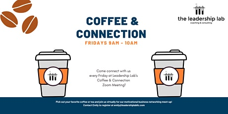 Coffee and Connection tickets