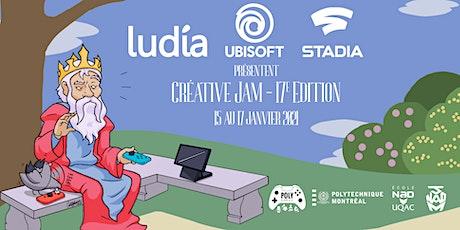 Creative Jam Virtuel - 17e édition billets