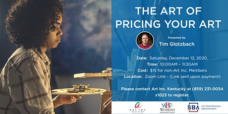 The Art of Pricing Your Art tickets