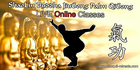 QI GONG - Online LIVE classes - ShaoLin Buddha JiuGong Palm QiGong tickets