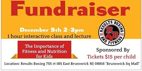 The Importance of Fitness and Nutrition for Kids tickets
