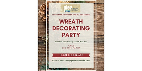 Wreath Decorating Class! tickets