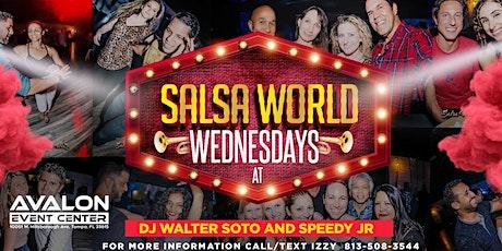 Salsa World Wednesdays Latin Night tickets