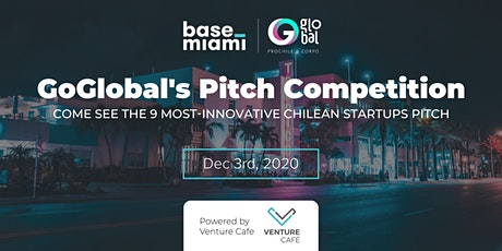 GoGlobal's Pitch Competition tickets