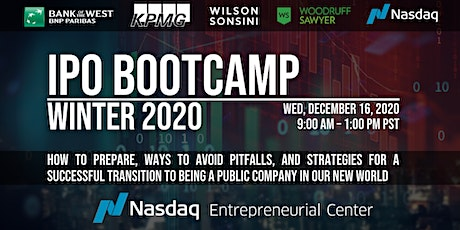 Winter 2020 Virtual IPO Bootcamp tickets