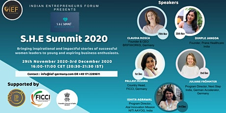 Day 2 of SHE Summit 2020 tickets