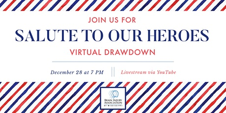 "2020 ""Salute to Our Heroes"" Virtual Drawdown tickets"