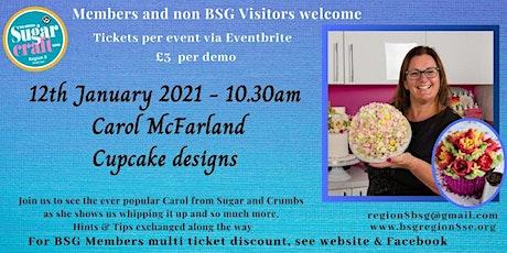Carol McFarland - Demonstrates Cupcakes and Russian nozzles. tickets