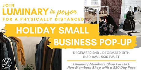 Luminary Holiday Pop-Up tickets