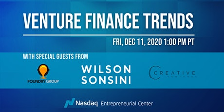 Venture Finance Trends with Wilson Sonsini and Special Guests tickets