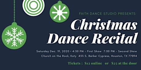Christmas Showcase tickets