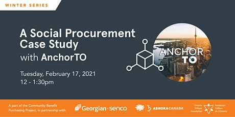 A Social Procurement Case Study with AnchorTO tickets