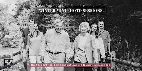 Winter Mini Photo Sessions in Cultural Gardens (Only $50) tickets