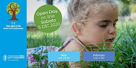 0-6 VALSECCHI OPERA SANT'ALESSANDRO/ OPEN DAY ON LINE biglietti