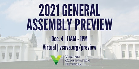2021 General Assembly Legislative Preview tickets