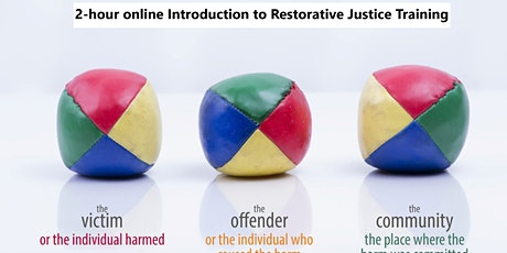 Introduction to Restorative Justice  for Community Healing   2-hr online tickets