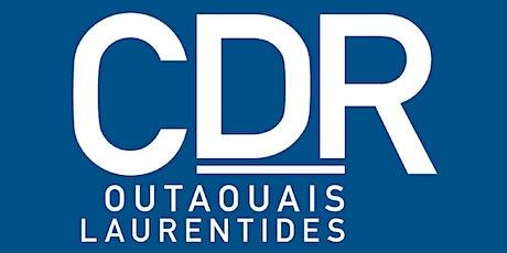 AGA Coopérative de développement régional Outaouais-Laurentides billets