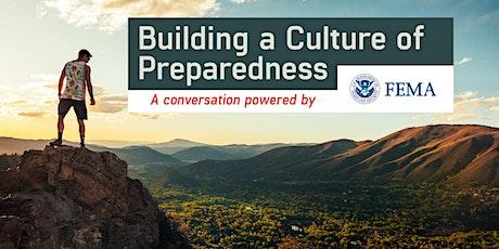 Building a Culture of Preparedness tickets