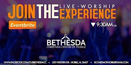 Bethesda Christian Center Worship Experience Nov. 29, 2020 tickets
