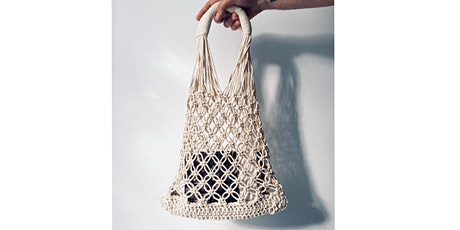 ONLINE MACRAME BAG WORKSHOP tickets