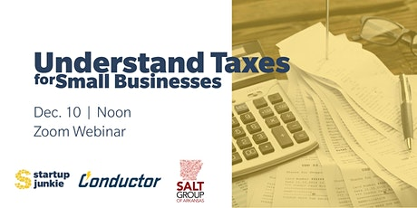 Understanding Taxes for Small Businesses tickets