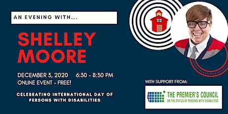 Celebrating IDPD 2020 with Shelley Moore tickets