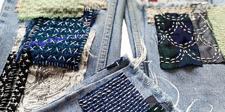 ONLINE JAPANESE MENDING + DARNING 2 IN 1 WORKSHOP tickets