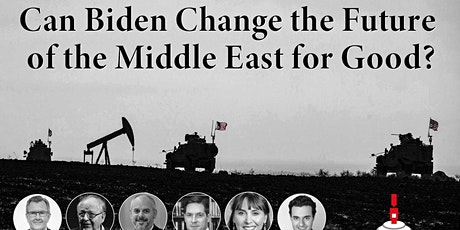 Circle Talks: Can Biden change the future of the Middle East for good? tickets